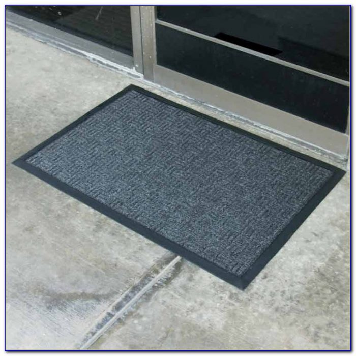 Large Rubber Backed Floor Mats
