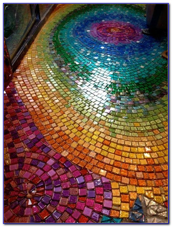Mosaic Floor Tile Ideas