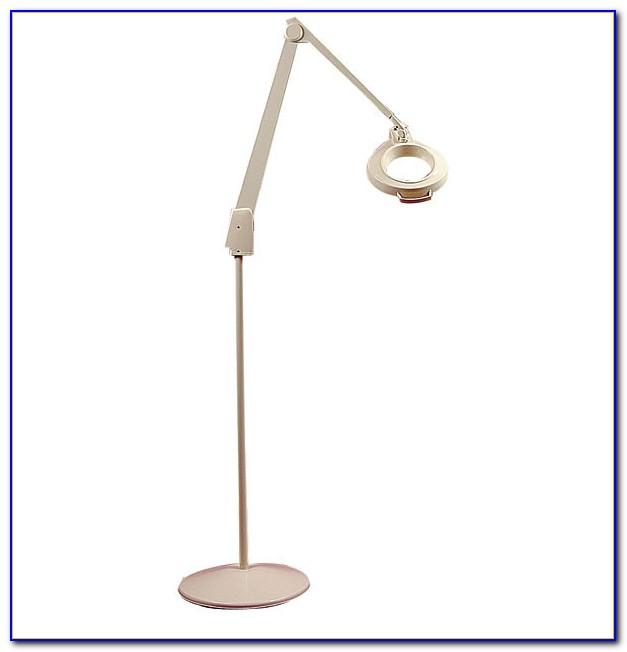 Oypla Floor Standing Magnifier Lamp