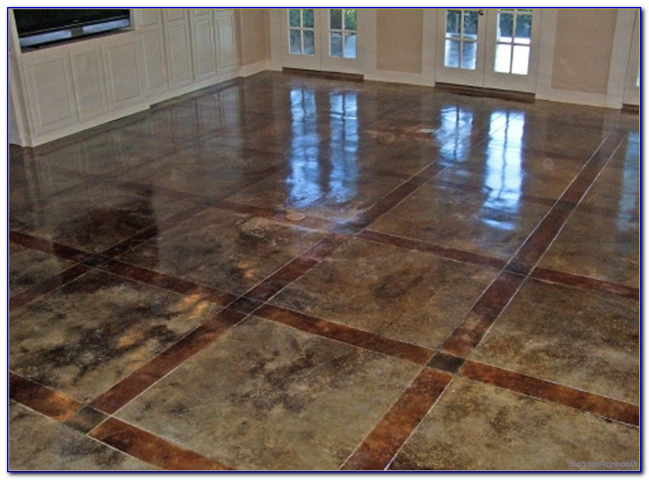 Speckled Cement Floor Paint Flooring Home Design Ideas