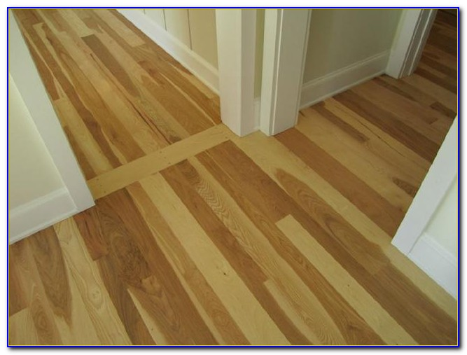 Random Width Pegged Hardwood Flooring