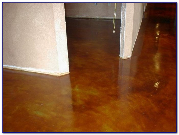 Repaint Concrete Basement Floor