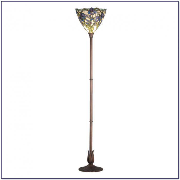 Restoration Bronze Torchiere Floor Lamp