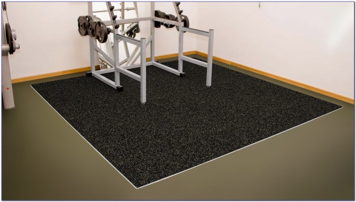 Rubber Floor Mats Exercise Equipment