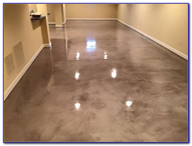 Epoxy Floor Paint By Quart : Rustoleum basement floor coating kit flooring home