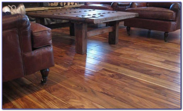 Sealing Prefinished Hardwood Floors