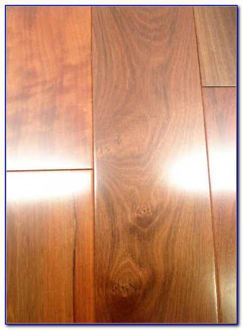 Sealing Prefinished Wood Floors