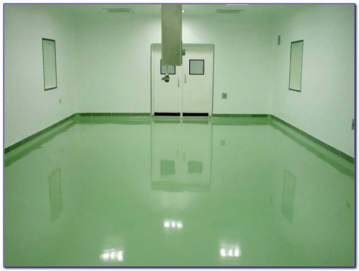 Self Leveling Garage Floor Epoxy