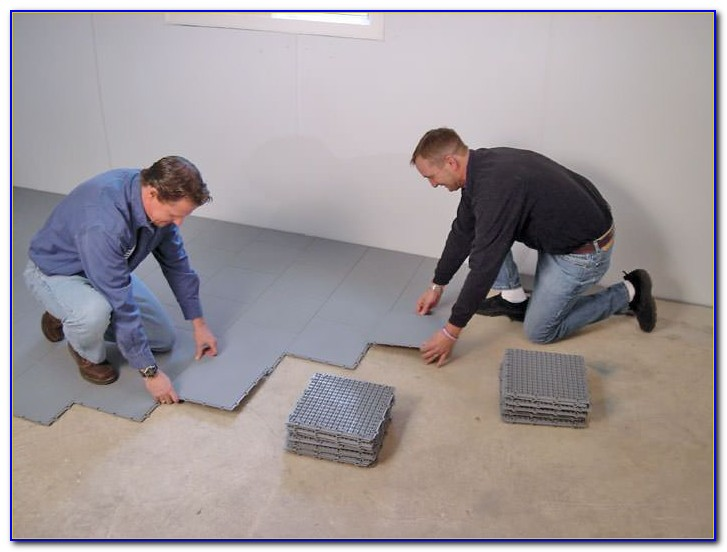 Thermaldry Basement Floor Matting Canada