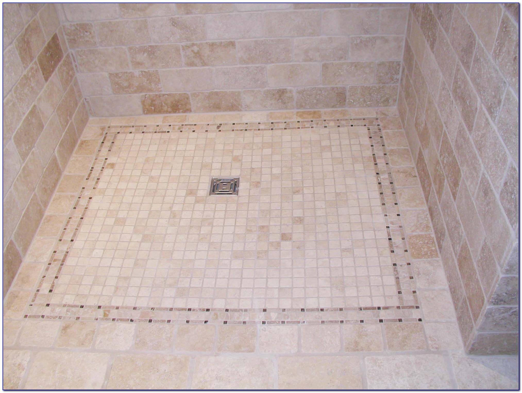 Vintage Mosaic Bathroom Floor Tile