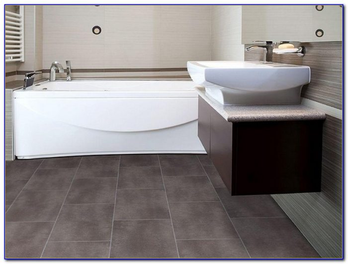 Vinyl Flooring For Bathrooms Types