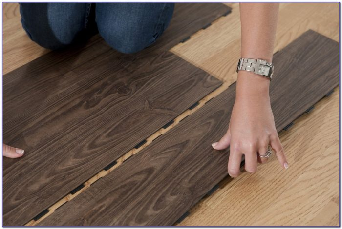 Vinyl Plank Floating Floor Installation Flooring Home