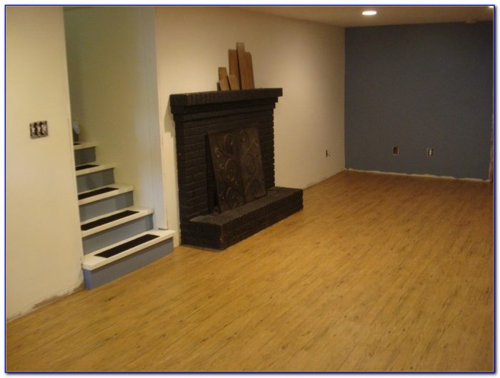 Vinyl Plank Flooring Wet Basement
