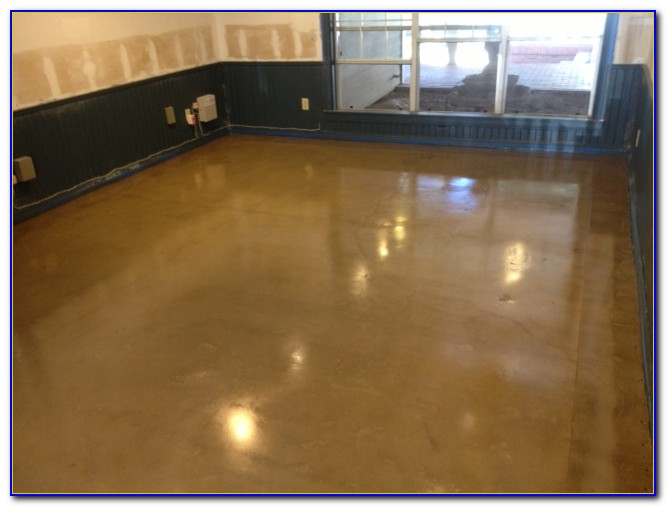 Water Based Floor Stain Dry Time