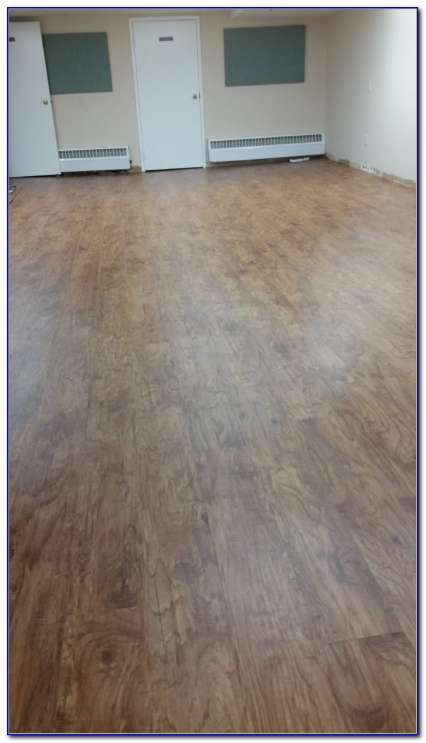 Waterproof Vinyl Plank Flooring Basement