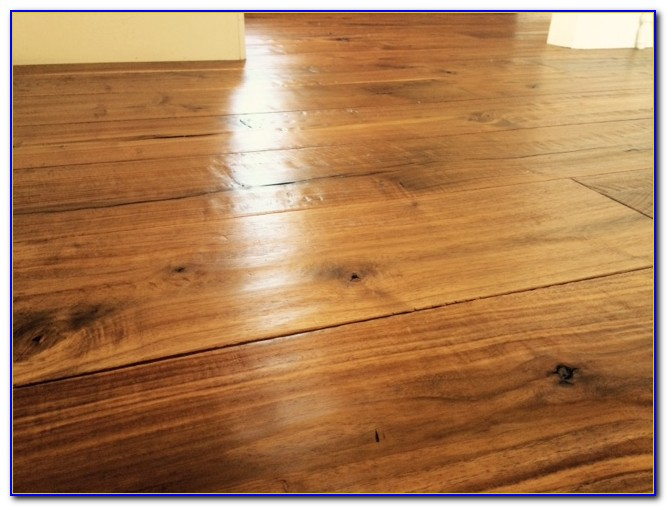 Wax Finish Hardwood Floor Care