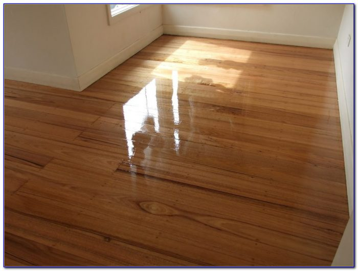Wax Finish Hardwood Floors