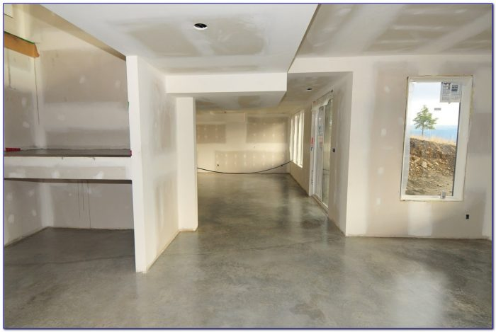 Bare Concrete Flooring : Waxing bare concrete floor flooring home design ideas