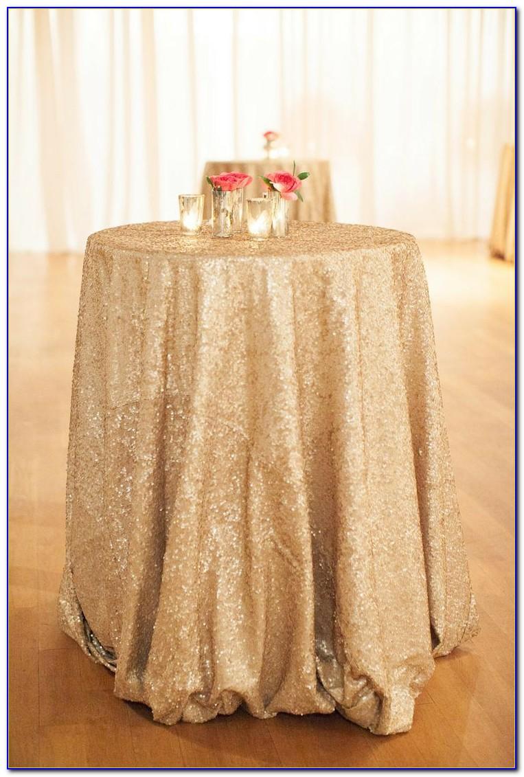 White Floor Length Tablecloths