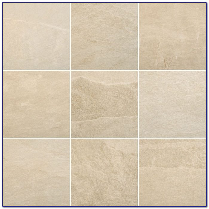 White Textured Porcelain Floor Tile