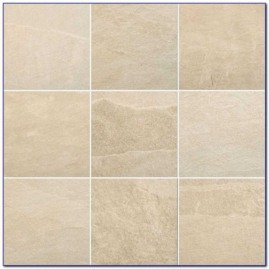White Textured Porcelain Floor Tile