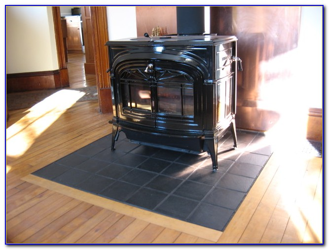 Wood Stove Floor Protector Flooring Home Design Ideas
