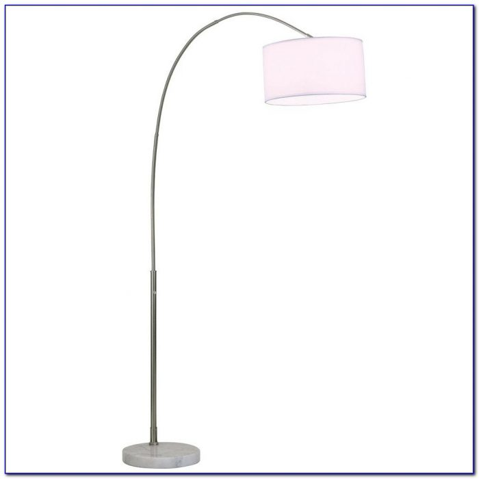 Arc Floor Lamp White Shade