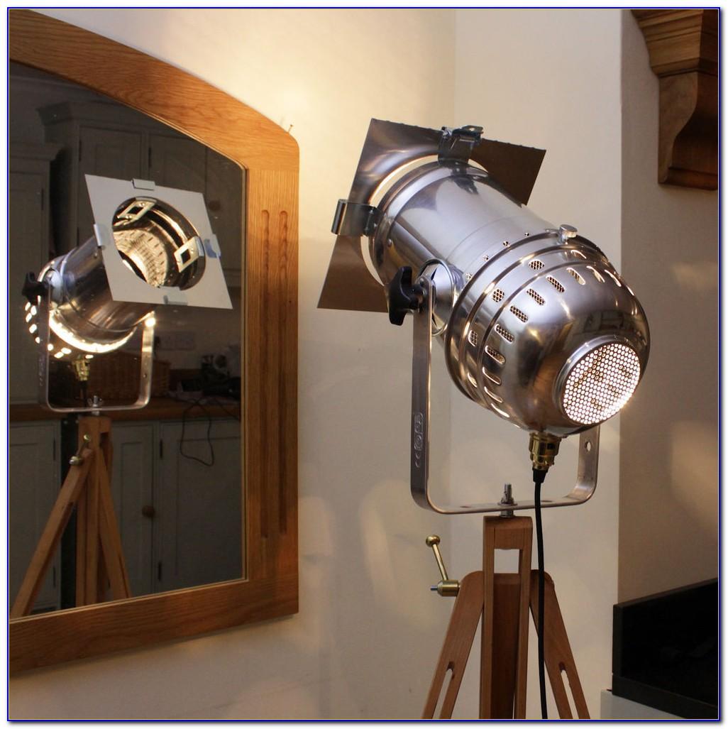 Audrey Retro Tripod Floor Lamp