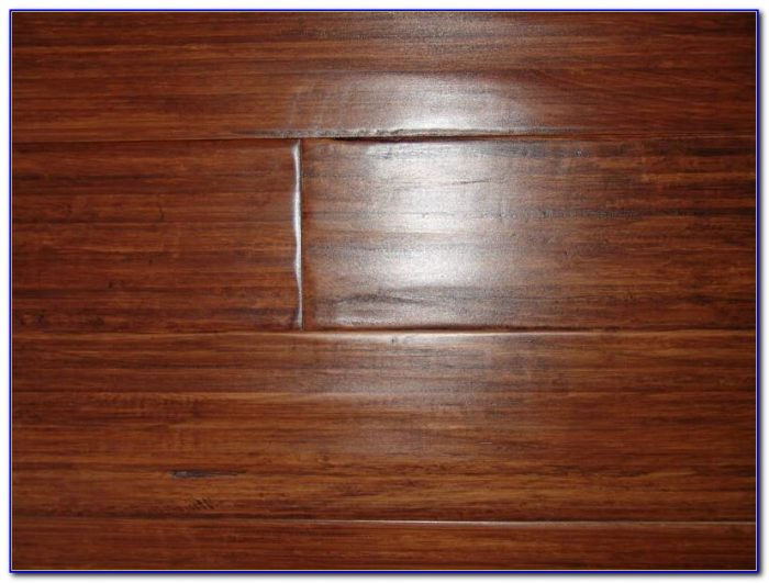 Bamboo Hand Scraped Wood Flooring
