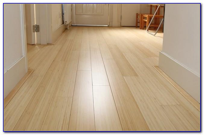 Bamboo Wide Plank Flooring