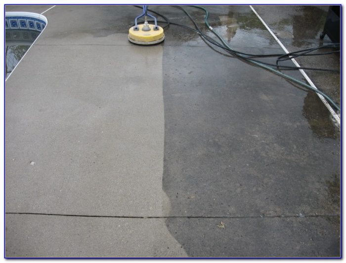 Waxing a painted concrete floor flooring home design for Concrete floor degreaser
