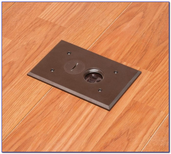 Brass Floor Box Cover Plate