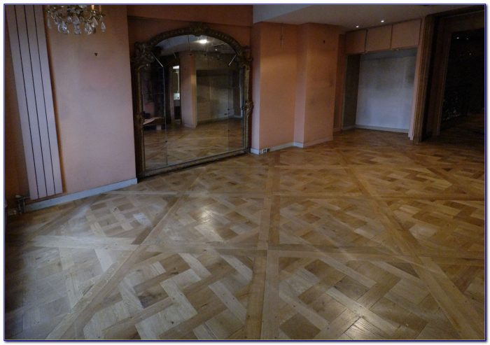 Sanding A Hardwood Floor With A Buffer Flooring Home