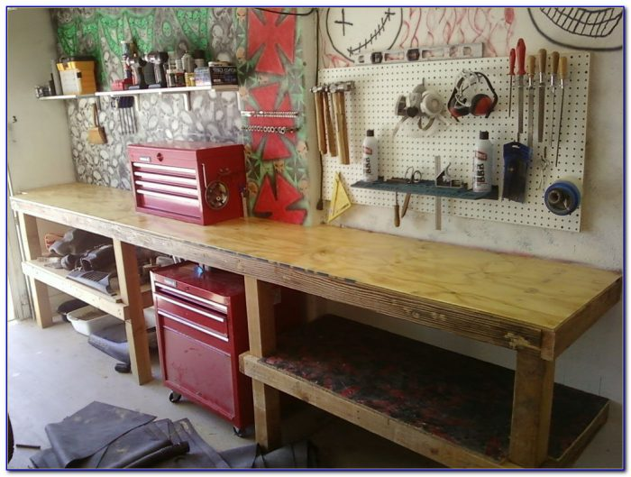Building A Workbench With Storage