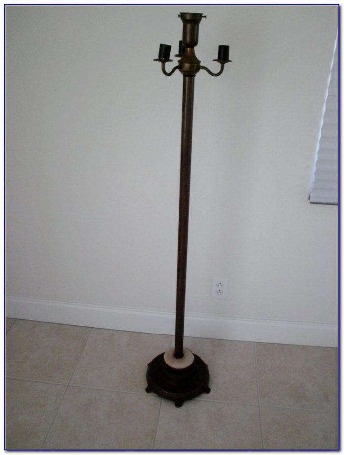 Cast Iron Floor Lamp Vintage Flooring Home Design