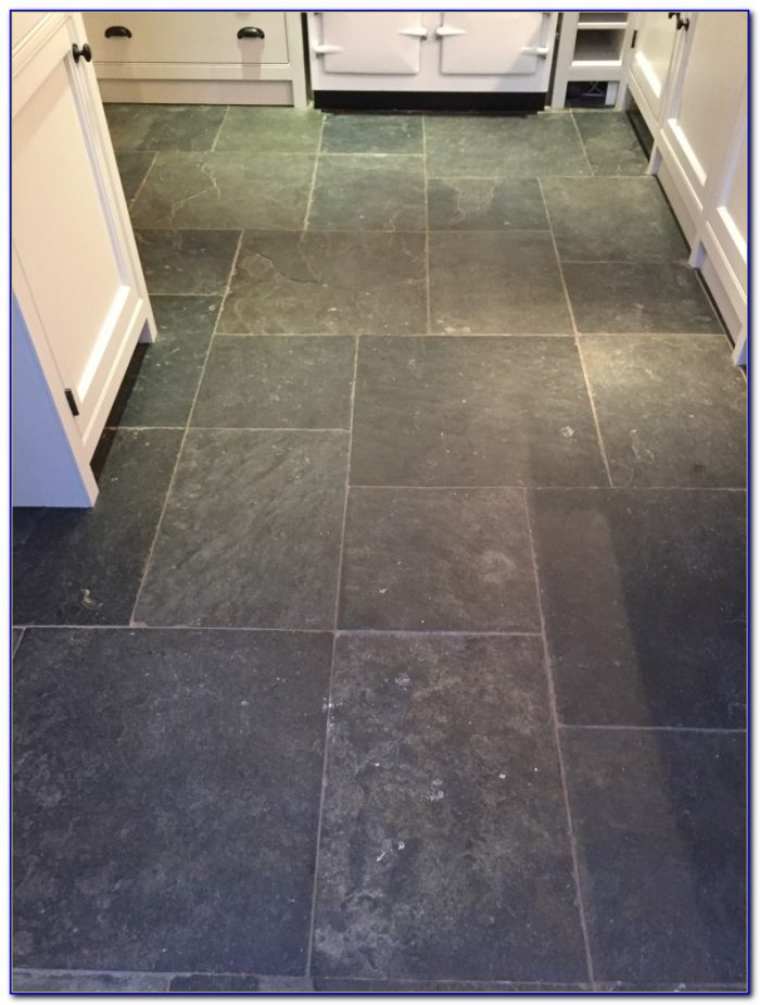 Cleaning Old Slate Floor Tiles