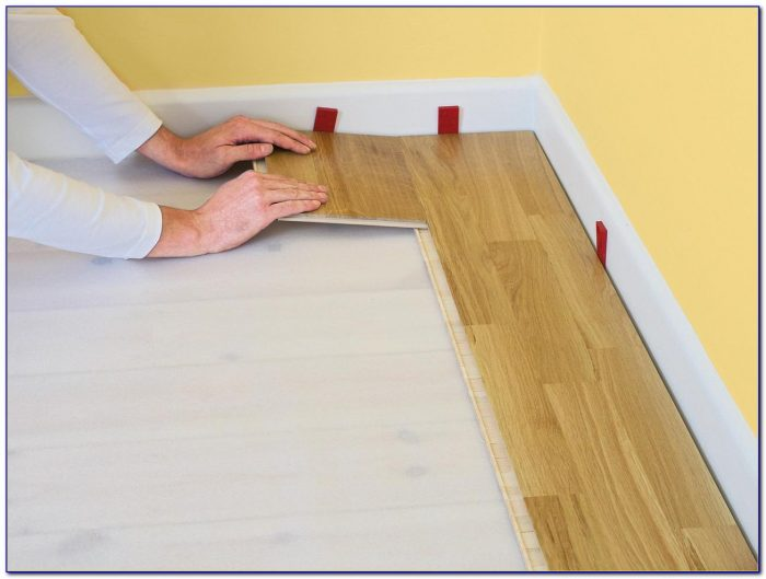 Click Lock Laminate Flooring Installation