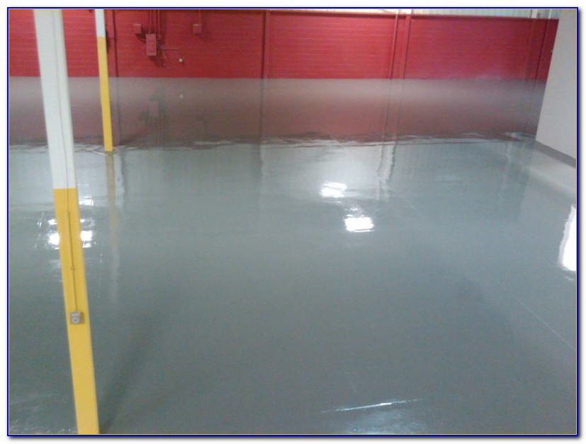 Commercial grade epoxy garage floor paint flooring for Commercial grade flooring options