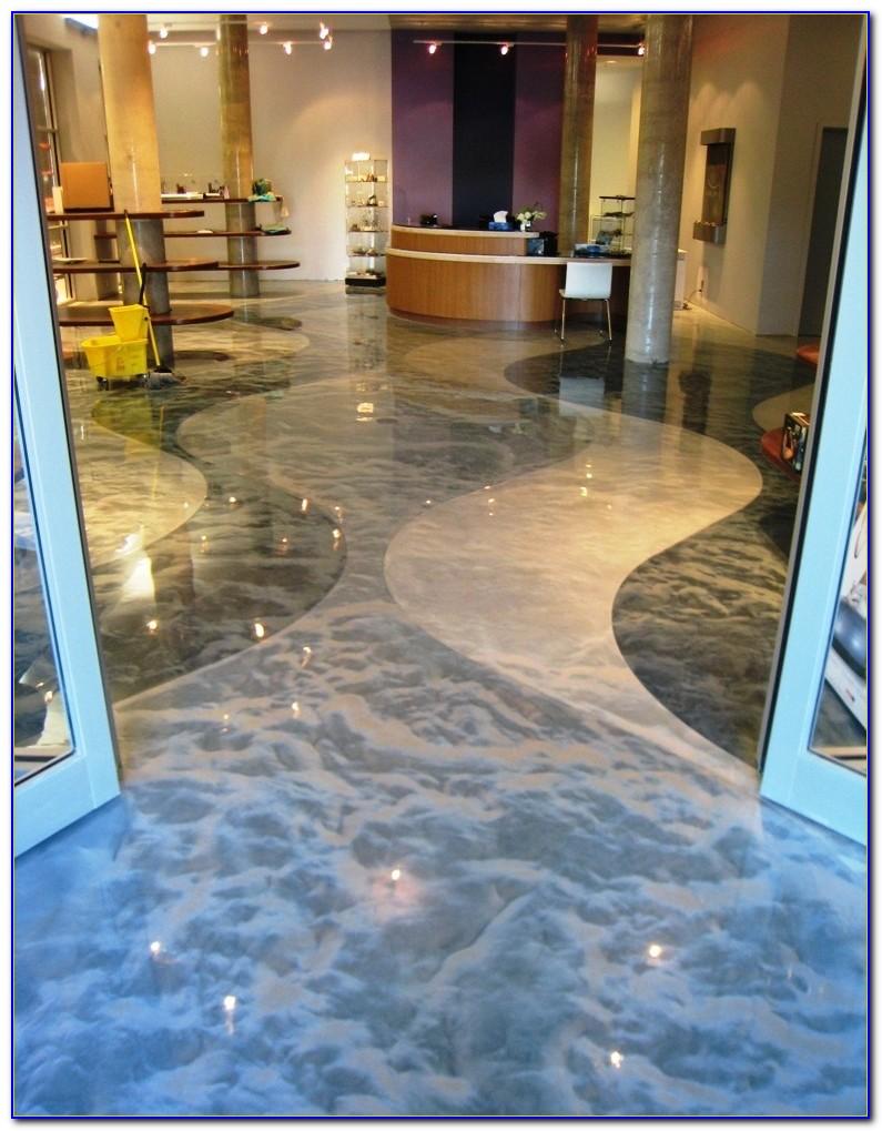 Concrete Floors Epoxy Coatings