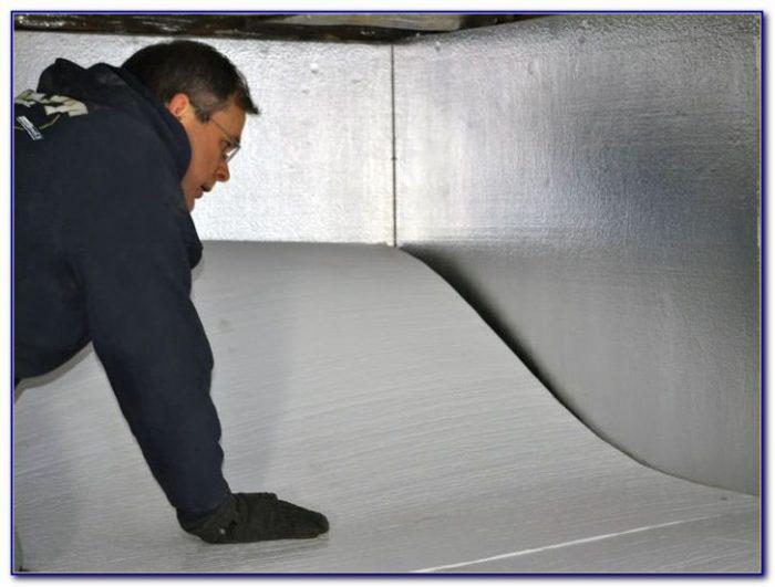 Crawl Space Floor Insulation Vapor Barrier