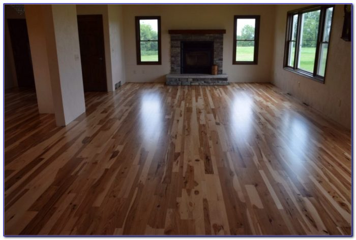 Dark Hickory Hardwood Flooring