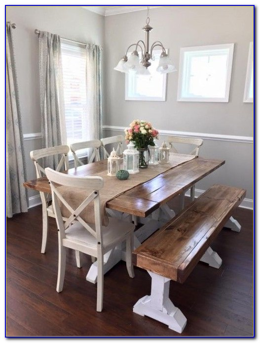 Dining Table Benches With Backs