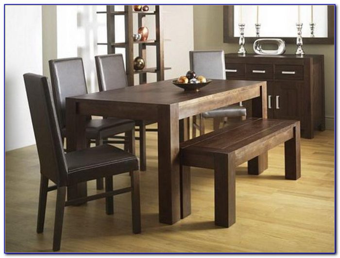 Dining Table With Bench And Chairs