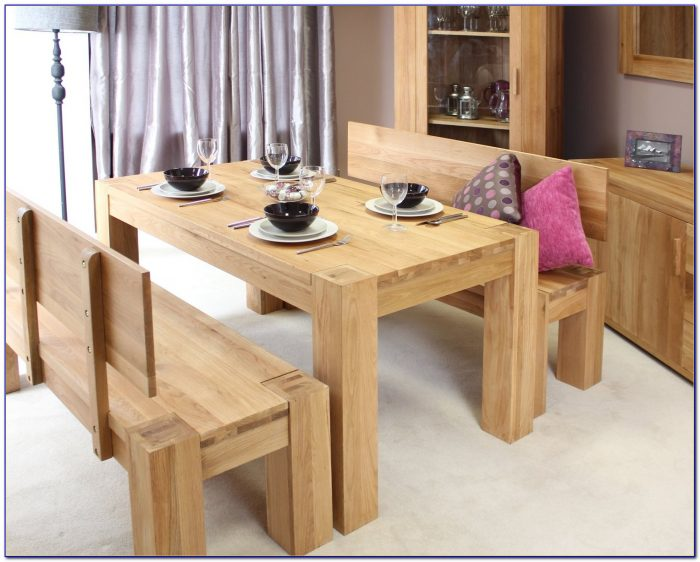 Dining Table With Bench Set Uk