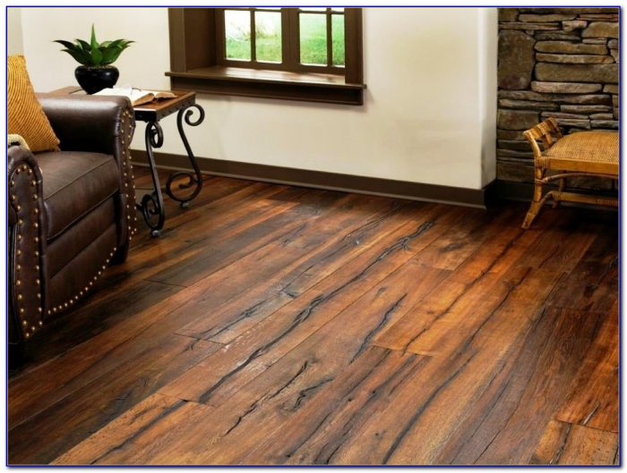 Distressed Hickory Hardwood Flooring