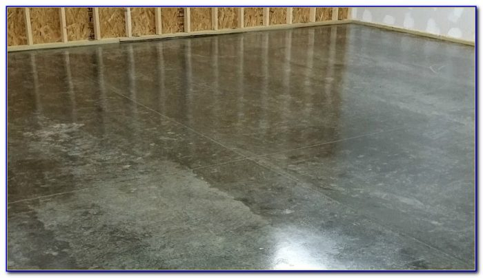 Dust Sealer For Concrete Floors