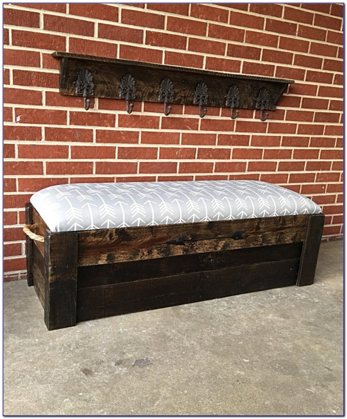Entryway Bench And Coat Hanger