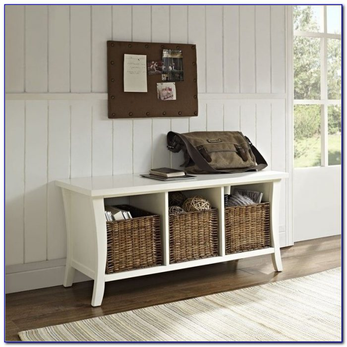 Entryway Bench With Storage For Shoes