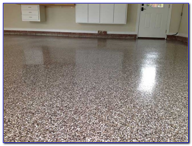 Epoxy Paint Chips : Garage floor coating paint chips flooring home design