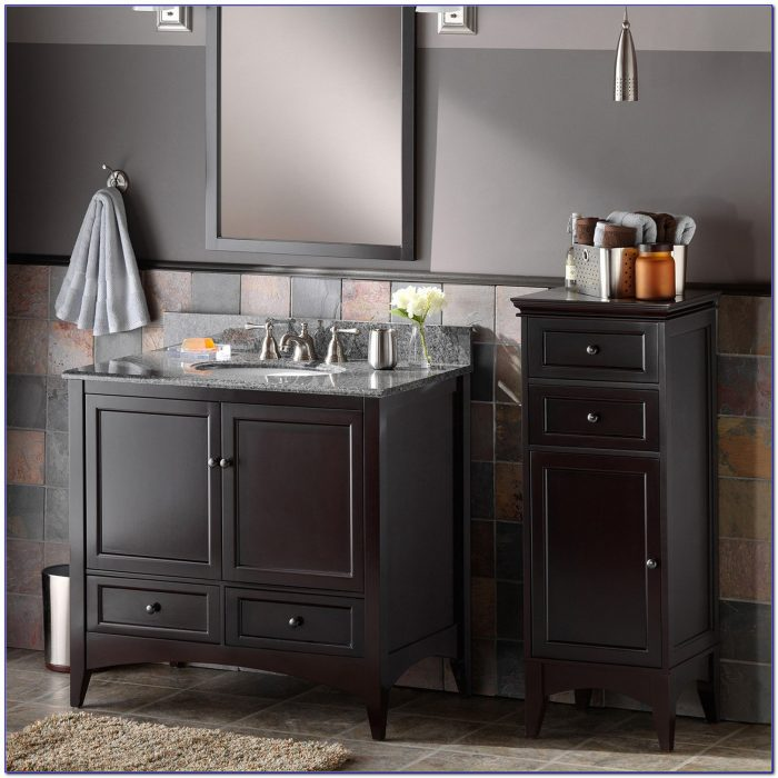 Bathroom floor cabinet with drawers flooring home for Bathroom cabinet 700